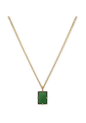Miansai - Lennox Gold-Plated and Enamel Necklace - Men - Gold