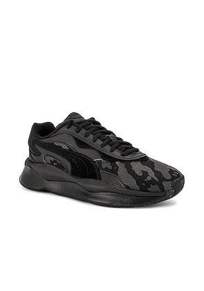 Puma Select x The Hundreds Pure in Black - Black,Camo. Size 7 (also in 7.5,9,9.5).