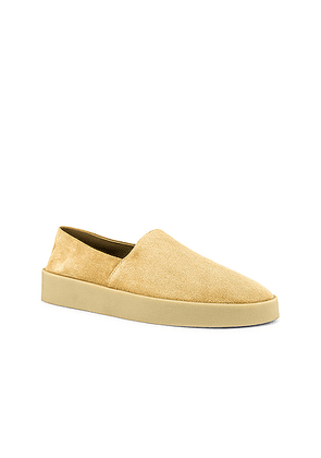 Fear of God Exclusively for Ermenegildo Zegna Suede Leather Espadrille in Camel - Neutral. Size 12 (also in ).