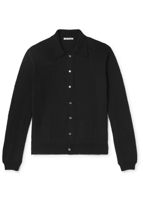 Our Legacy - Cotton Polo Shirt - Men - Black