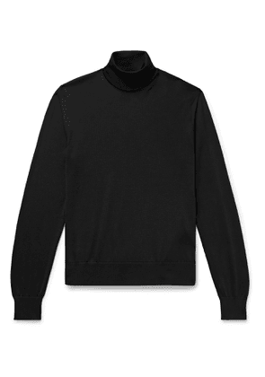 TOM FORD - Slim-Fit Knitted Rollneck Sweater - Men - Black