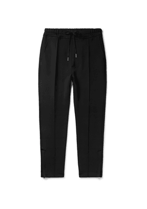 TOM FORD - Slim-Fit Stretch-Jersey Drawstring Sweatpants - Men - Black