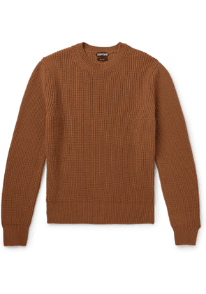 TOM FORD - Ribbed Cashmere Sweater - Men - Red