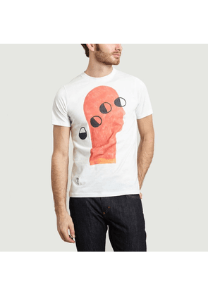 Red Head T-shirt White Christian Lacroix