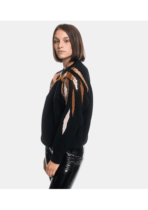 Pull Ara Black with gold details