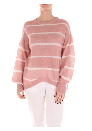 8 PM Sweater Women Pink and white