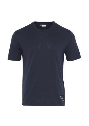 Brioni Cotton T-Shirt (Navy)