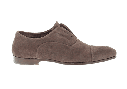 FABI MEN'S 8479BROWN BROWN SUEDE LACE-UP SHOES