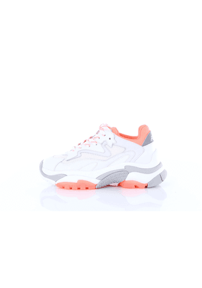 ASH Sneakers low Women White and fluo orange