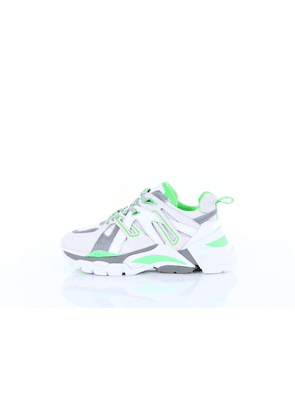 ASH Sneakers low Women White and green