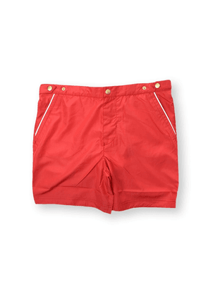 ELEVENTY MEN'S 979BC0001BEA2000118 RED POLYESTER TRUNKS