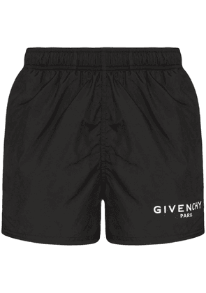 GIVENCHY MEN'S BMA0061Y5N001 BLACK POLYESTER TRUNKS