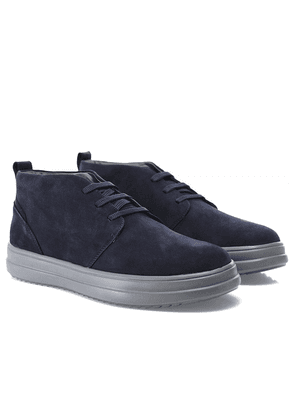 Geox Suede Tayrvin Trainers Colour: Navy