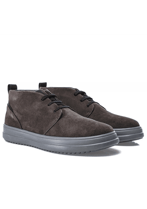 Geox Suede Tayrvin Trainers Colour: Grey