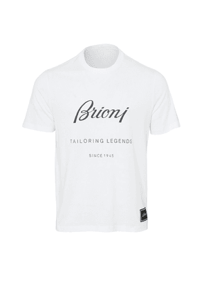 Brioni Tailoring Legends T-Shirt (White)