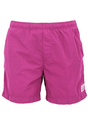 CP COMPANY MEN'S 08CMBW217A000004G712 FUCHSIA POLYESTER TRUNKS