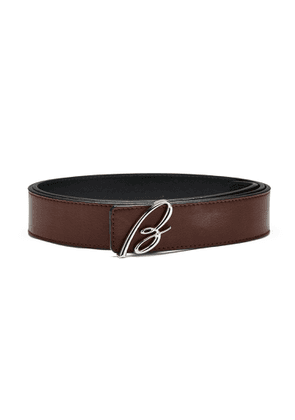 Brioni Reversible Belt (Brown / Black)