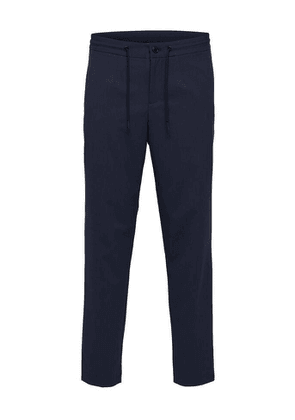 Selected Slim Tapered Pete Trouser Navy