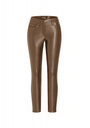 Cambio Ray Brown leather trousers 6301 733