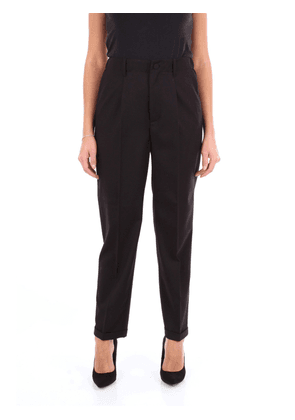 BLUMARINE WOMEN'S 4360NERO BLACK VISCOSE PANTS