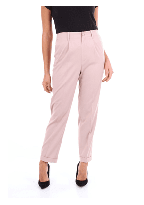 BLUMARINE WOMEN'S 4360ROSAANTICO PINK COTTON PANTS