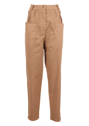 Bedspread Brown trousers pockets