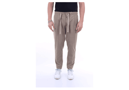 ENTRE AMIS Trousers Regular Men Kaki