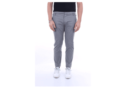 ENTRE AMIS Trousers Regular Men Grey