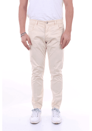 ENTRE AMIS Trousers Regular Men Cream