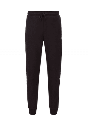 BOSS Double Faced Halvo Joggers Colour: Black