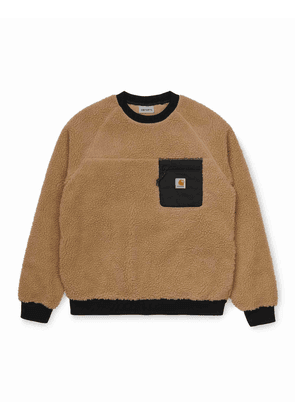 Carhartt WIP Prentis Sweatshirt - Dusty Hamilton Brown Colour: Dusty