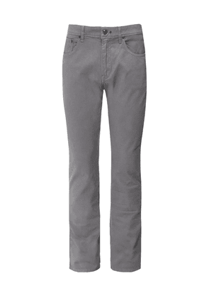 Hackett Slim Fit Textured Jeans Colour: Silver