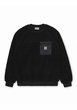 Carhartt WIP Prentis Sweatshirt - Black Size: Small, Colour: Black