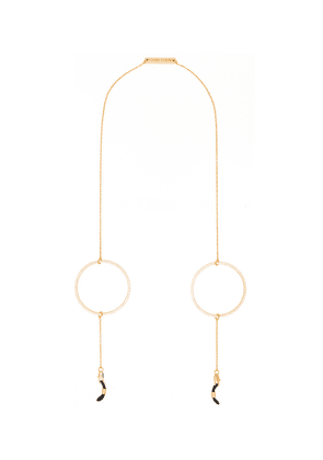 'Circle of Lust' Oversized Hoop Glasses Chain
