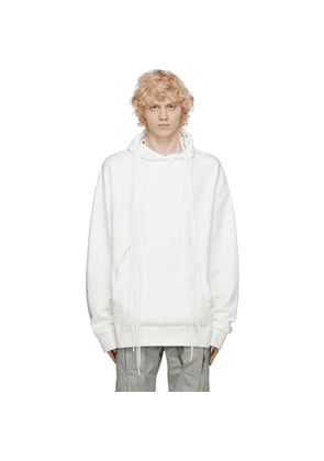 Post Archive Faction PAF White 3.1 Left Hoodie