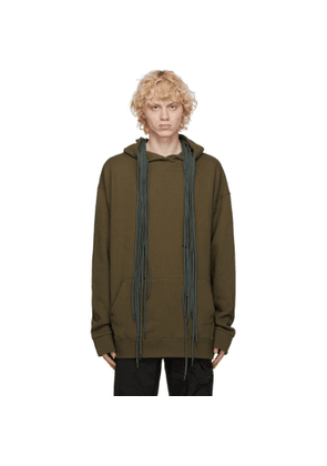 Post Archive Faction PAF Green 3.1 Left Hoodie