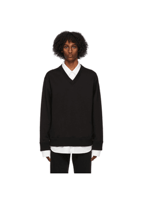 mastermind WORLD Black Collared Sweatshirt
