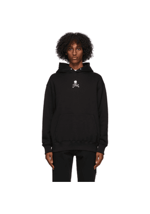 mastermind WORLD Black Boxy Crystal High Hoodie