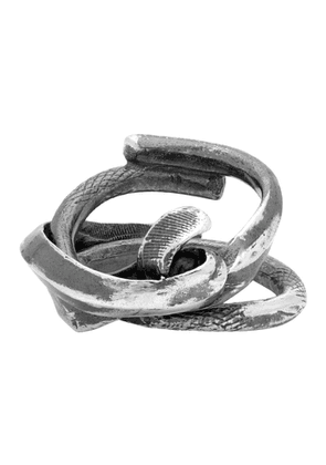 Chin Teo Silver Poesy Ring
