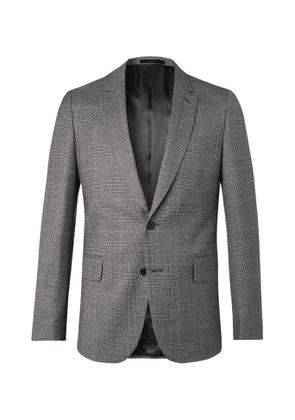 Paul Smith - Prince of Wales Checked Virgin Wool Blazer - Men - Gray