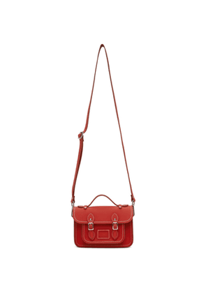 Comme des Garcons Girl Red The Cambridge Satchel Company Edition Bag
