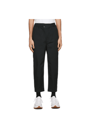 Converse Black Shapes Triangle-Front Trousers