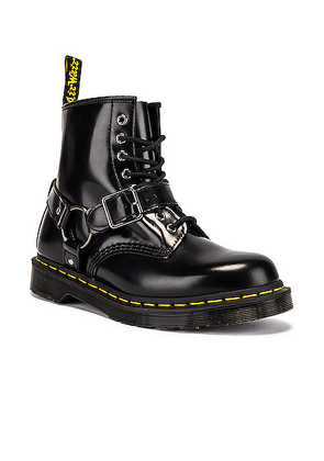 Dr. Martens 1460 Harness in Black - Black. Size 8 (also in ).