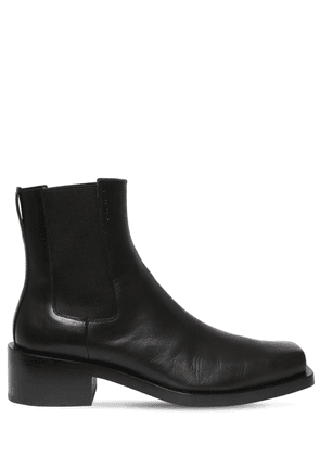 50mm Leather Boots