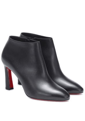 Eleonor 85 leather ankle boots