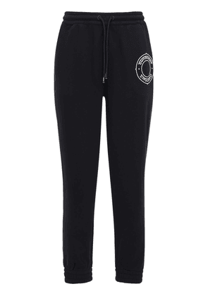 Embroidered Cotton Jersey Sweatpants