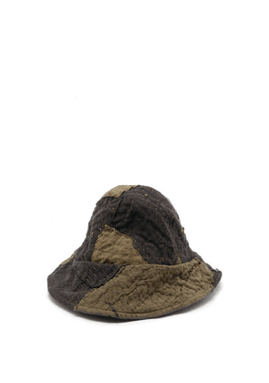 By Walid - Hani Repurposed Cotton-canvas Bucket Hat - Mens - Khaki