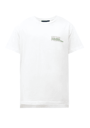 Lost Daze - New Mind Corp Printed T-shirt - Mens - White