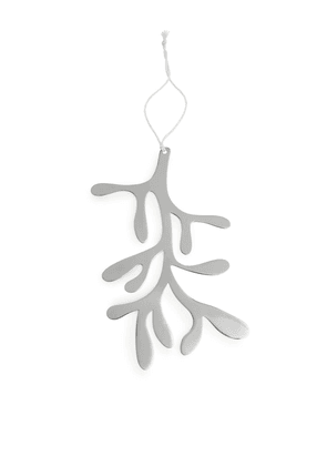 Mistletoe Decoration - Silver