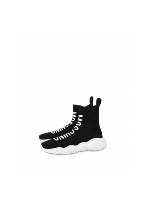 High Sock Sneakers With Logo